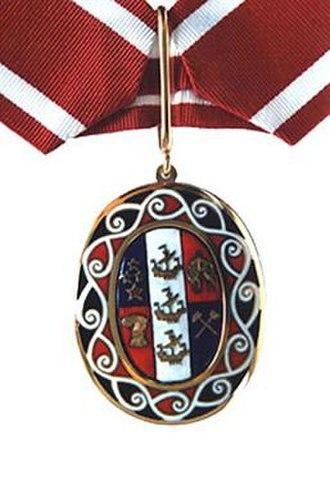 Order of New Zealand - Image: Onz