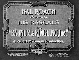 <i>Barnum & Ringling, Inc.</i> 1928 film