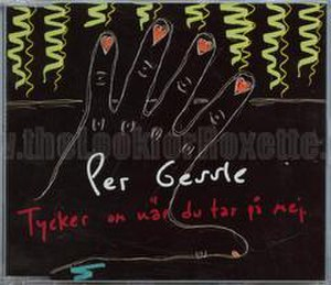 Tycker om när du tar på mej - Image: PG Tycker om när single cover