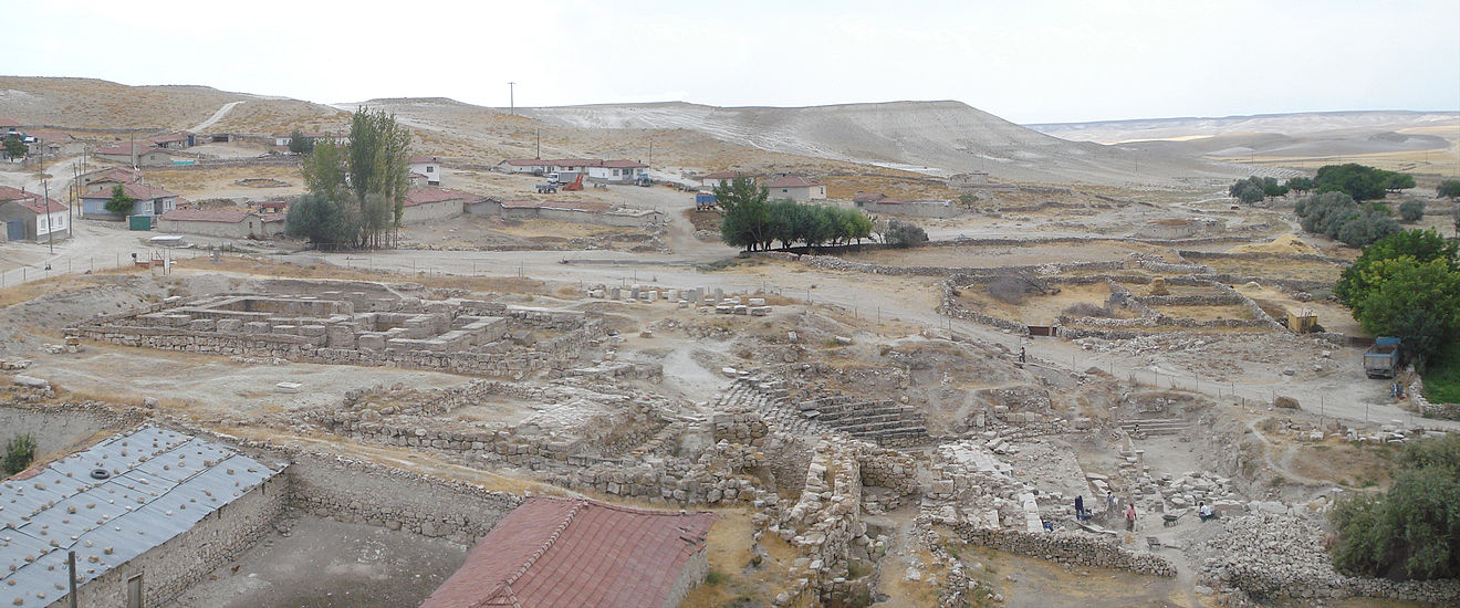 Panorama of the temple zone.