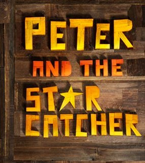 <i>Peter and the Starcatcher</i> play written by Rick Elice