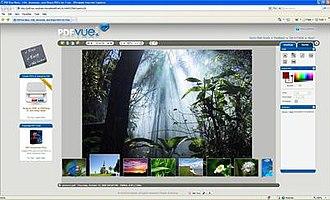 Pdfvue - Image: Pdfvuescreenshot