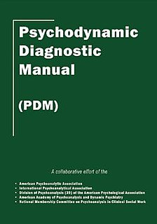 <i>Psychodynamic Diagnostic Manual</i>
