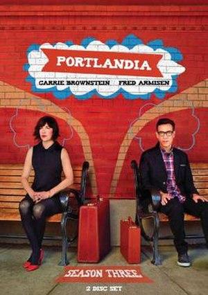 Portlandia (season 3) - DVD cover