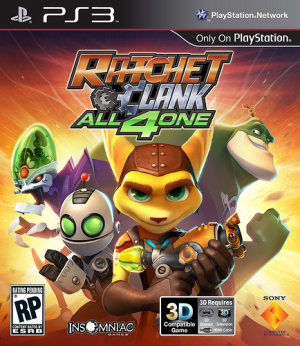 Ratchet & Clank: All 4 One - Image: Ratchet and Clank All 4 One