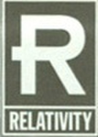 Relativity Records - Logo from late 1995 until 1999