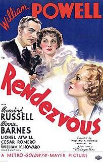 <i>Rendezvous</i> (1935 film) 1935 spy film