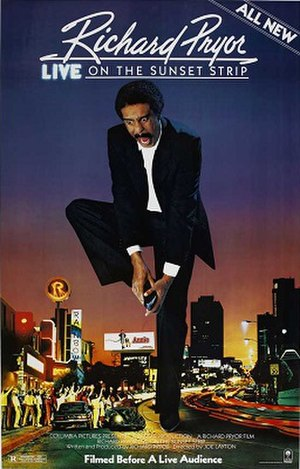 Richard Pryor: Live on the Sunset Strip (film) - Theatrical release poster