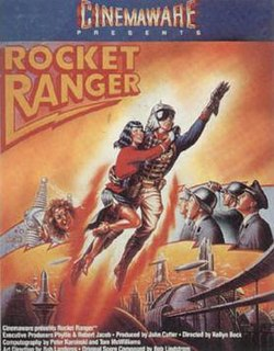 <i>Rocket Ranger</i> video game