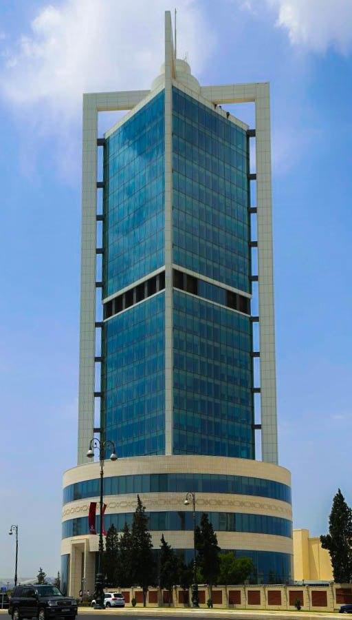 SOFAZ Tower in 2016