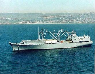 Type C5 class ship - SS Curtiss, a type C5-S-78a class ship