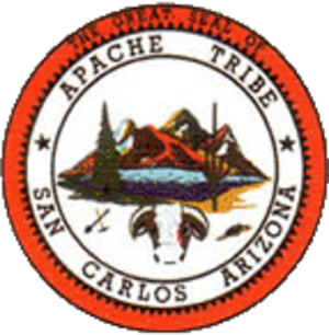 Western Apache people - Seal of the San Carlos Apache tribe