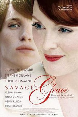 Savage Grace - Theatrical release poster