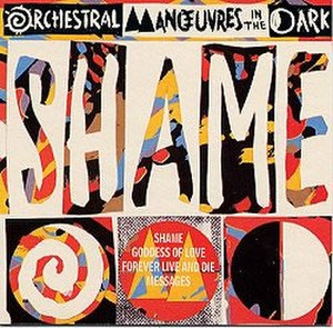 Shame (Orchestral Manoeuvres in the Dark song) - Image: Shame single