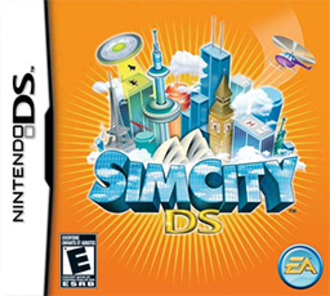 SimCity 3000 - Image: Sim City DS Coverart