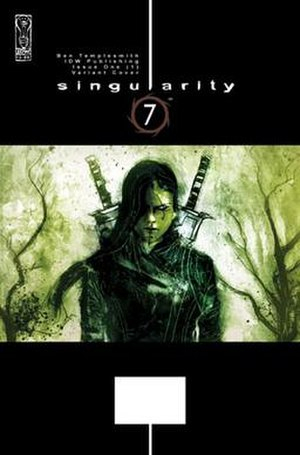 Singularity 7 - A variant cover for Issue 1