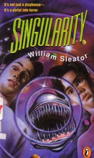 Singularity (Sleator novel) - Cover of the 1995 Puffin (Puffin Books) paperback edition