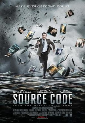 Source Code - Theatrical release poster