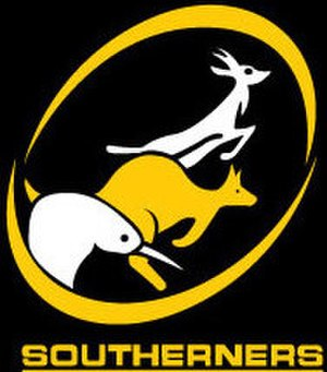 Southerners Sports Club (Bangkok) - Southerners Sports Club logo featuring a Kiwi, Springbok and Kangaroo