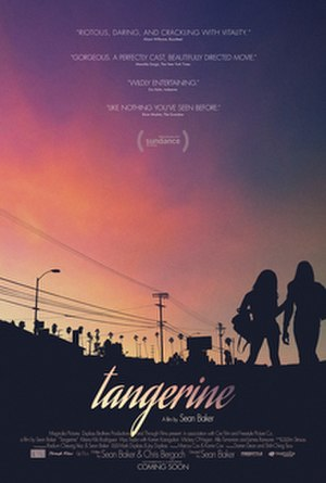 Tangerine (film) - Theatrical release poster