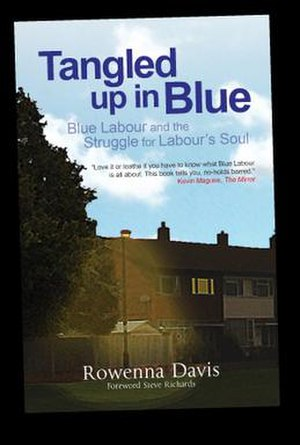 Tangled Up in Blue (book) - The book's front cover designed by Sade Payne