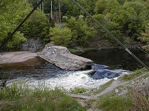 Farmington River - Tariffville Gorge Dam
