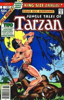 Tarzan marvel annual 1
