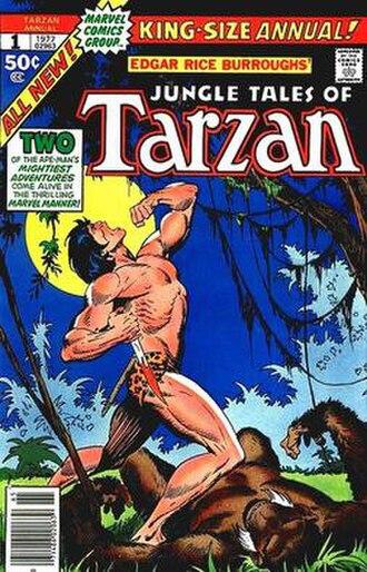 John Buscema - Image: Tarzan marvel annual 1