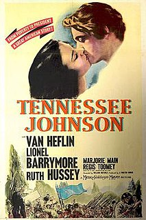 <i>Tennessee Johnson</i> 1942 film by William Dieterle