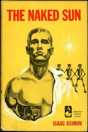 R. Daneel Olivaw - R. Daneel Olivaw as depicted on the cover of the novel The Naked Sun.