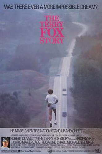 The Terry Fox Story - Image: The terry fox story movie poster 1983