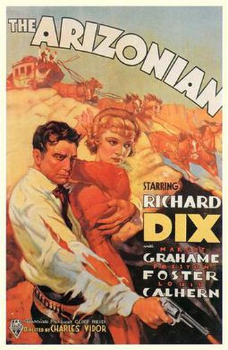 The Arizonian - Theatrical poster for the film