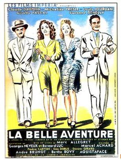 <i>The Beautiful Adventure</i> (1942 film) 1942 film by Marc Allégret