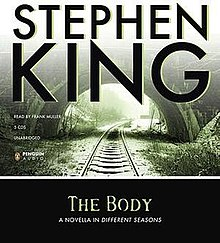 an analysis of the novella the body by stephen king Stephen king's joyland is a 2013 mystery novel, first published as a paperback original it's set at an amusement park in north carolina and follows the story of a carny, a murder, and a sick child with special powers.