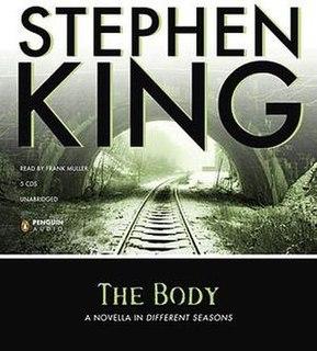 <i>The Body</i> (King novella) book