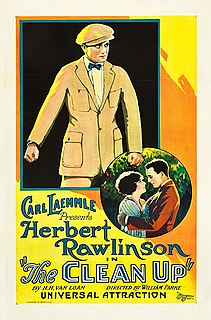<i>The Clean Up</i> (1923 film) 1923 film