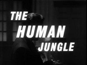 The Human Jungle (TV series) - Image: The Human Jungle titlecard