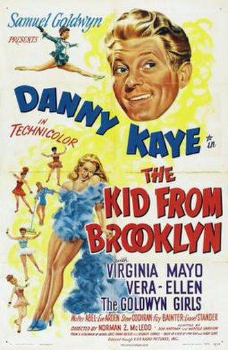 The Kid from Brooklyn - Image: The Kid from Brooklyn Film Poster