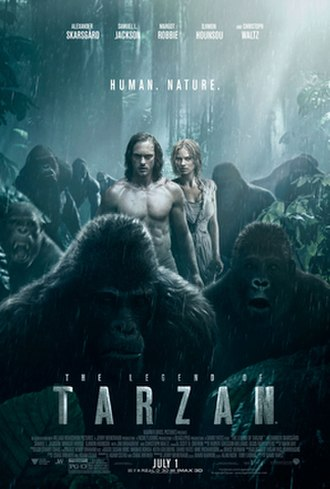 The Legend of Tarzan (film) - Theatrical release poster