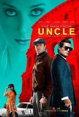 The Man from U.N.C.L.E. (film) - Theatrical release poster