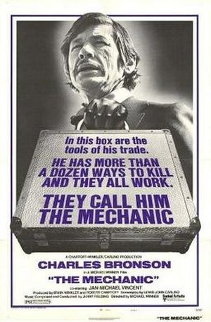 The Mechanic (1972 film) - Theatrical release poster