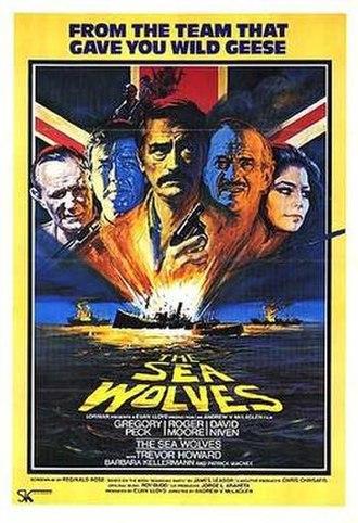 The Sea Wolves - Original film poster by Arnaldo Putzu