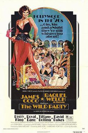 The Wild Party (1975 film) - Film poster