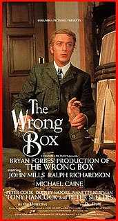 <i>The Wrong Box</i> 1966 film by Bryan Forbes