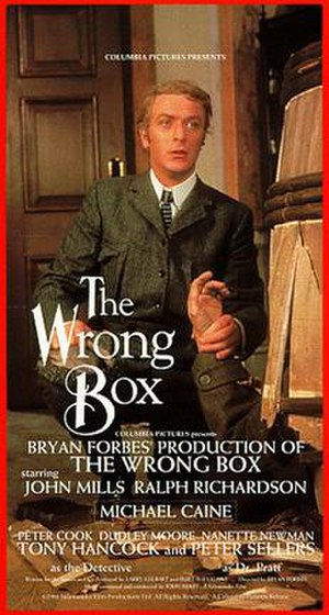 The Wrong Box - Theatrical release poster