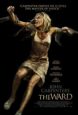 The Ward (film) - The film's poster.