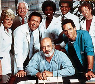 Trapper John, M.D. - The cast of Trapper John, M.D. season 6 (1984-1985).
