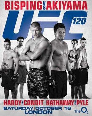 UFC 120 - Image: UFC 120 Poster