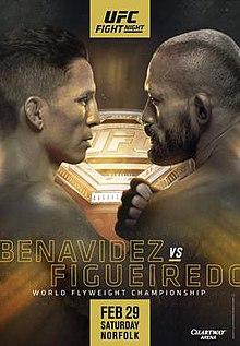 Ufc Fight Night Benavidez Vs Figueiredo Wikipedia