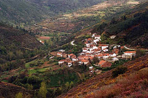 Vila Real District - The village of Urjais near Chaves